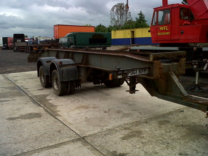 RAY SMITH DE-MOUNT   TANDEM  AXLE DRAWER...