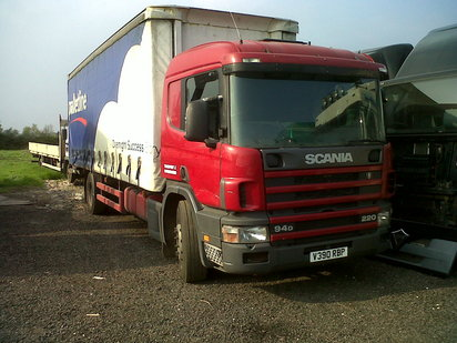 SCANIA 94 18 TON SLEEPER CAB