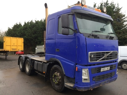 VOLVO FH12 6X4 UNIT ON STEEL