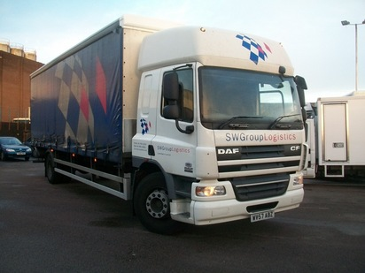 DAF 65CF 4X2 CURTIAN